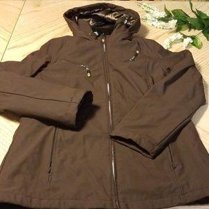 Weatherproof brown jacket
